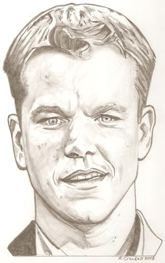 Matt Damon por RobCrandall